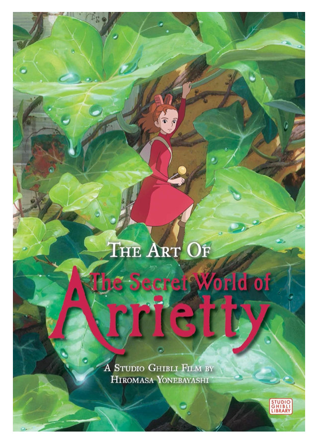 ART OF SECRET WORLD OF ARRIETTY HARDCOVER