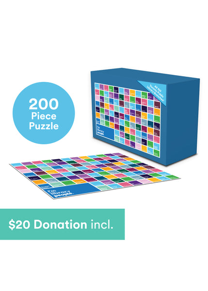 I'm Library People Limited Edition Puzzle ($20 donation to TPL included in price)