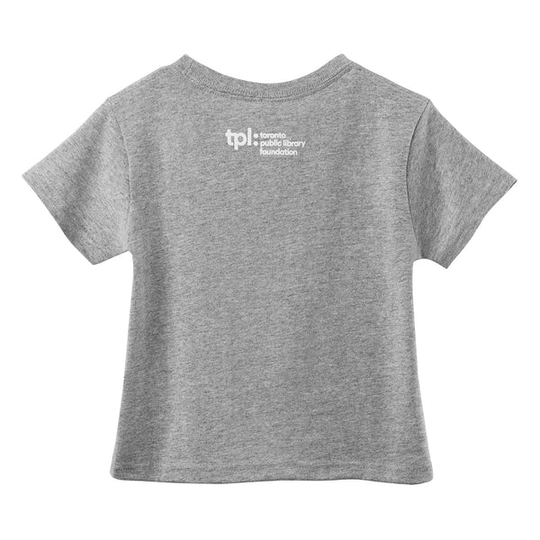 I'm Library People Toddler Tee ($5 donation to TPL included in price)