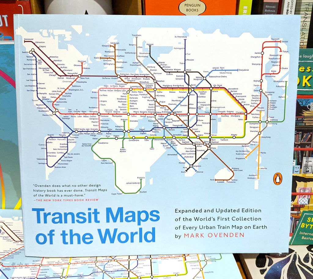 Transit Maps of the World, by Mark Ovenden