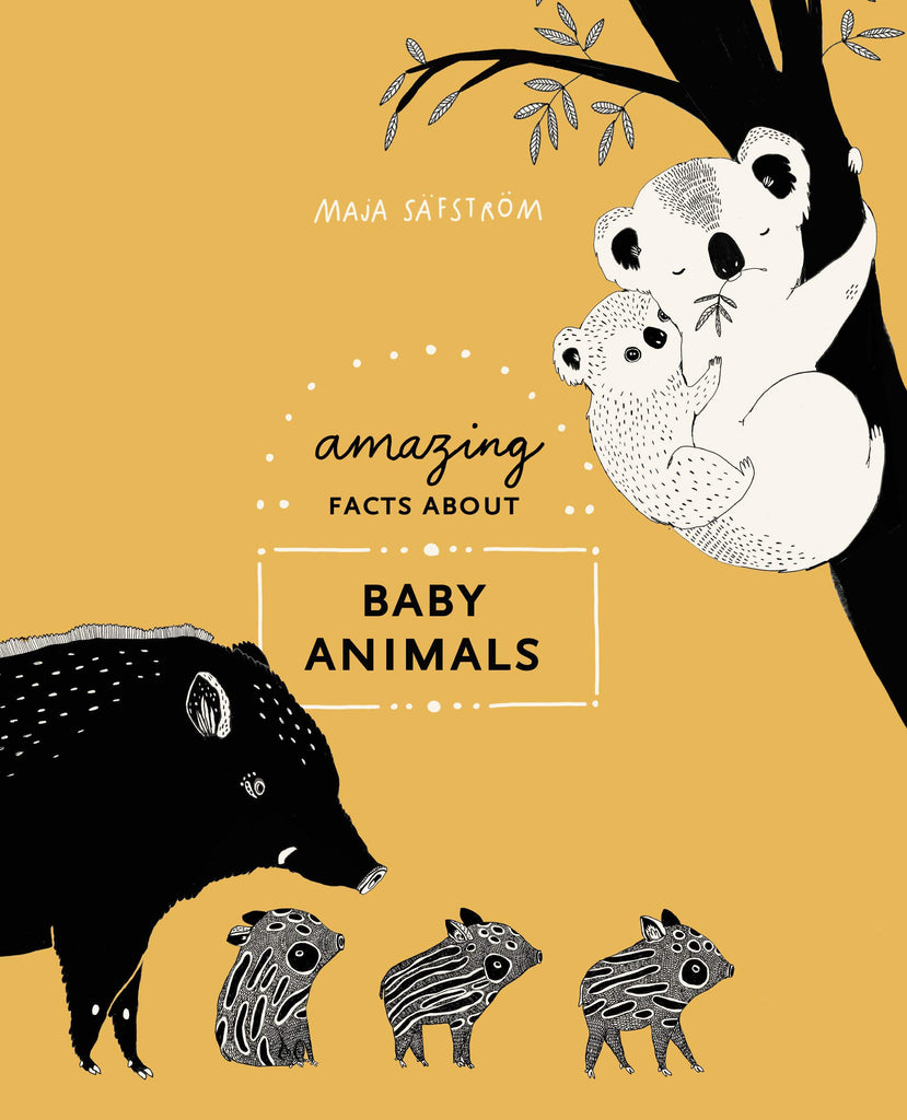 Amazing Facts About Baby Animals by Maja Safstrom