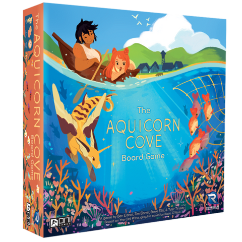 Aquicorn Cove the Board Game