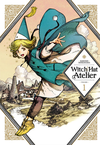 Witch Hat Atelier Volume 1 by Kamome Shirahama