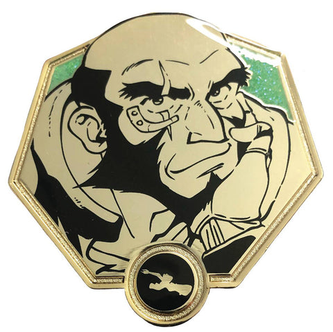 Golden Jet Black - Cowboy Bebop Collectible Pin