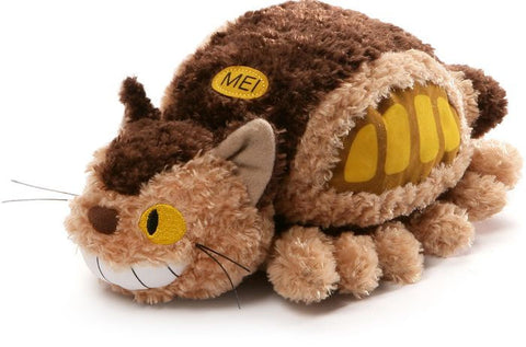 TOTORO FLUFFY CAT BUS PLUSH
