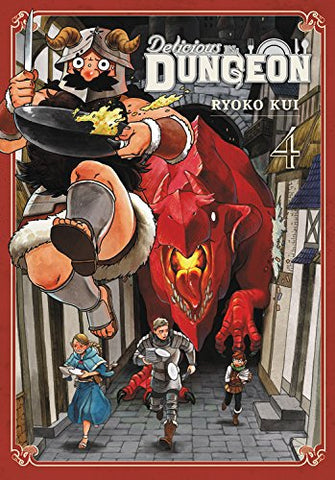 Delicious in Dungeon vol. 4 by Ryoko Kui