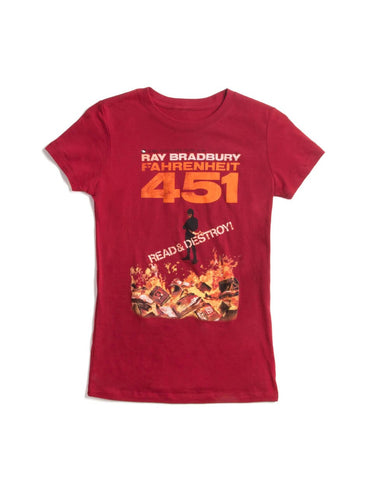 Fahrenheit 451 Fitted T-Shirt