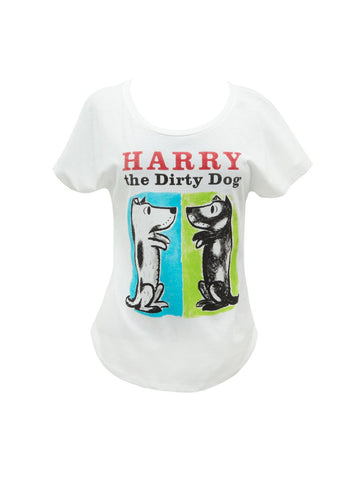 Harry the Dirty Dog Fitted Relaxed T-Shirt