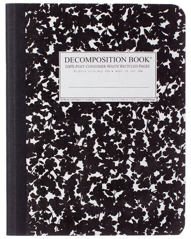 Cherry Blossom Decomposition Book