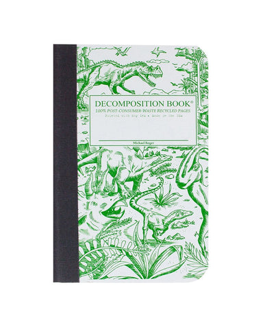 Dinosaur Decomposition Book (Pocket sized!)