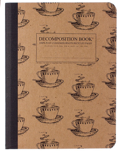 Coffee Cup Decomposition Book