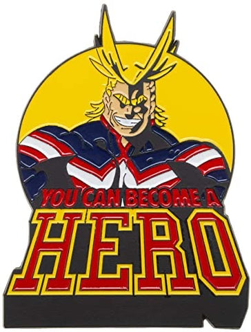 All Might Lapel Pin