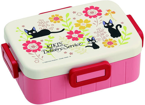 Kiki's Delivery Service Jiji & Flower Bento Box with Divider