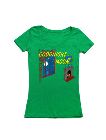 Goodnight Moon Fitted T-Shirt