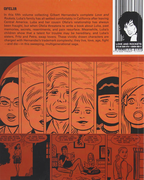 Ofelia: A Love and Rockets Book by Gilbert Hernandez