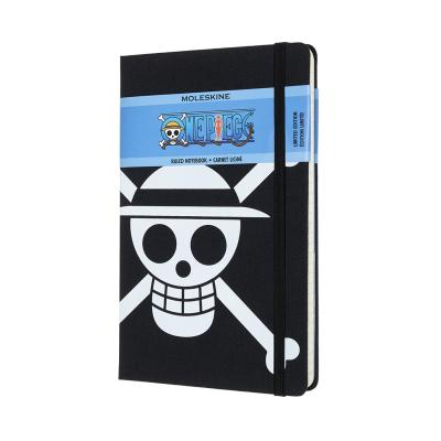 One Piece Large Ruled Notebook: Flag Canvas