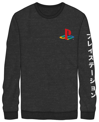 Grey PlayStation Long-sleeve Unisex T-Shirt