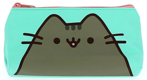 Pusheen Pencil Case Aqua and Pink