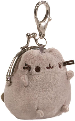"Pusheen Plush Keychain Coin Purse (3"")"