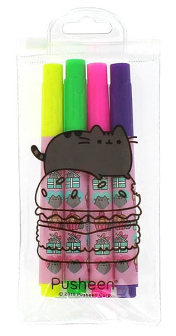 Pusheen Highlighter Set (4pc)