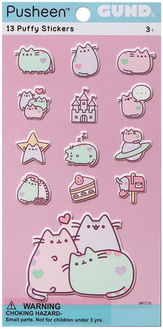 Pusheen Pastel Sticker Set (13pc)