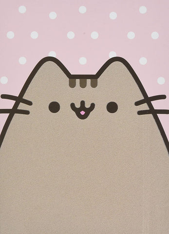 Pusheen Polka Dot Pink Notebook