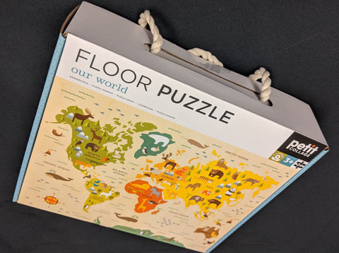 Floor Puzzle - Our World