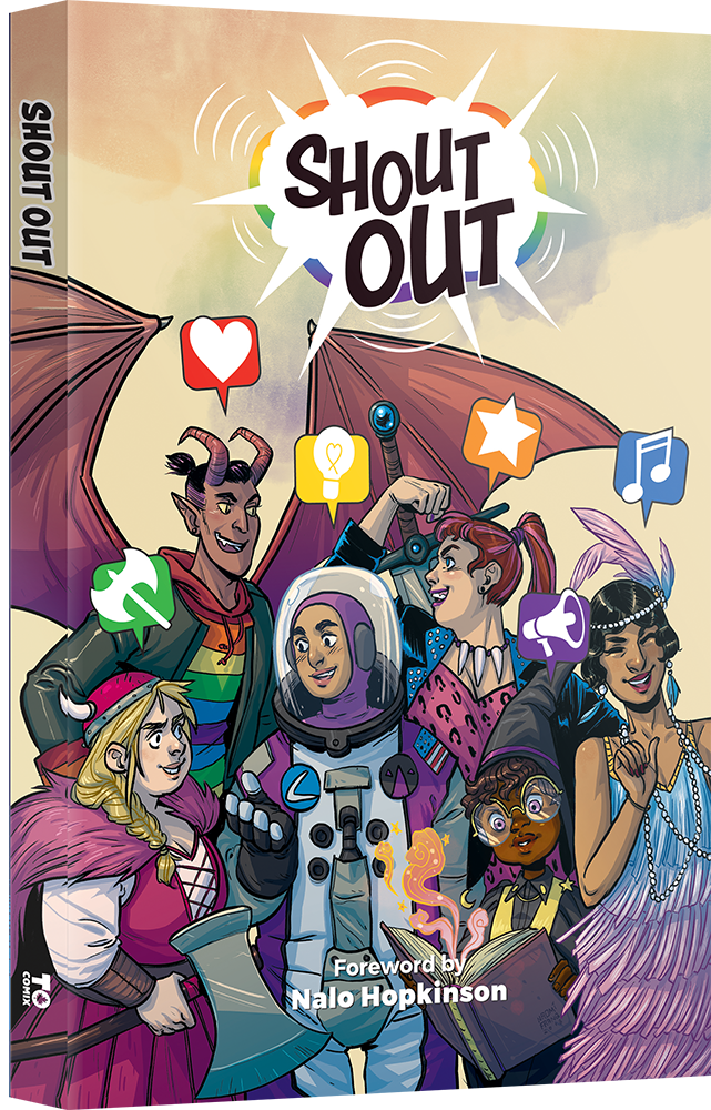 Shout Out (Comics Anthology)