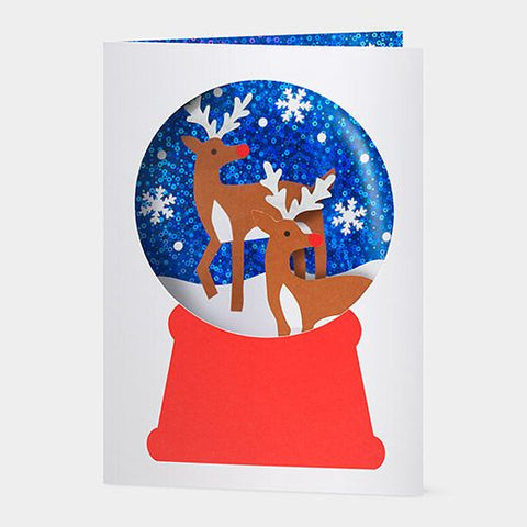MoMA Holiday Cards: Snowy Reindeer (Set of 8)