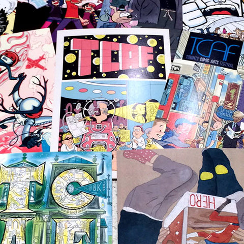 TCAF Postcard Set #1 (10 Cards)