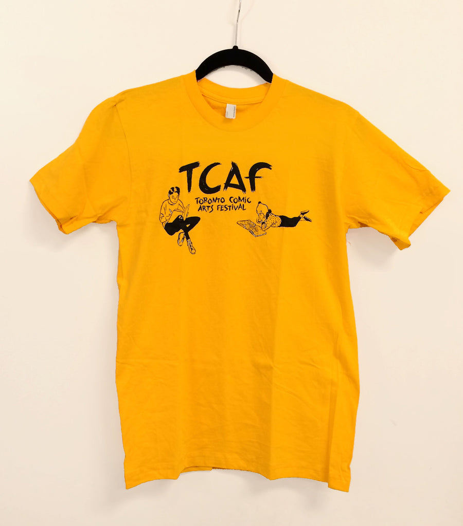 TCAF 2011 Volunteer Shirt - Art by Jillian Tamaki