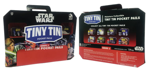 Star Wars Tiny Tin Miniature Collectable Lunchbox Series 1