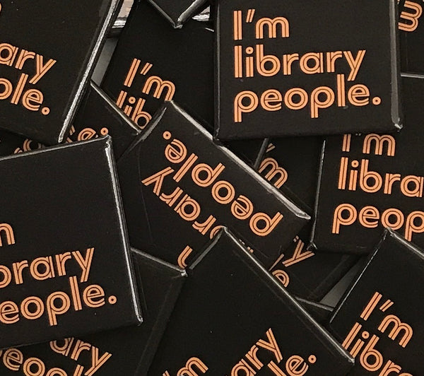 I'm Library People Tee ($20 donation to TPL included in price)