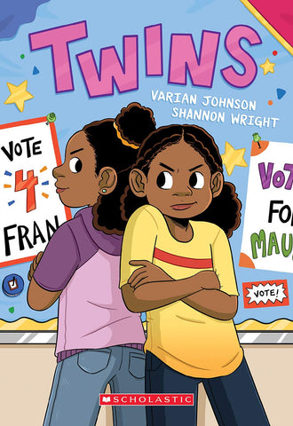 Twins: A Graphic Novel by Varian Johnson and Shannon Wright