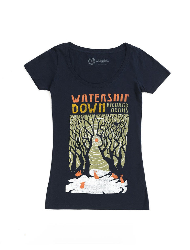 Watership Down Fitted T-Shirt