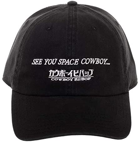 """See You Space Cowboy"" Cowboy Bebop Black Hat"