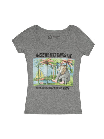 Where the Wild Things Are Fitted T-Shirt