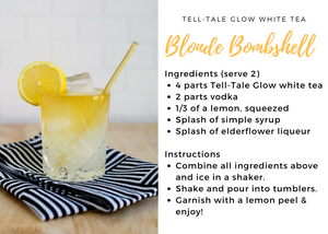 Tell-Tale Glow White Tea Cocktail