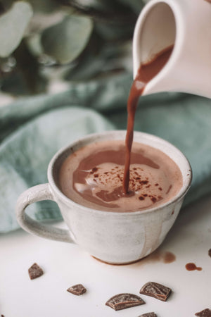 Organic Mint Hot Chocolate