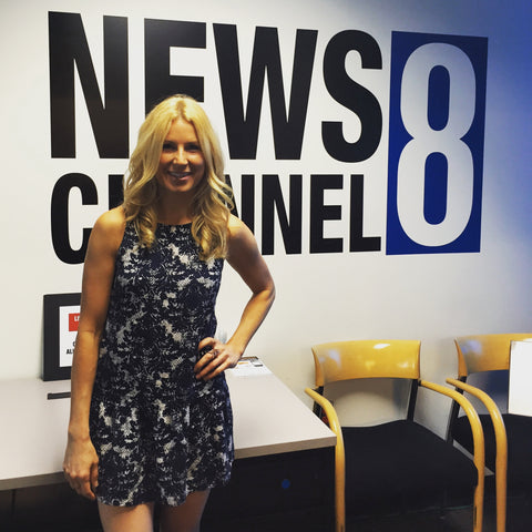 Theresa Krier founder of Big T NYC at News Channel 8