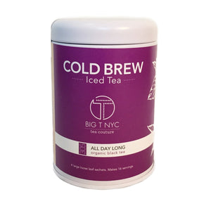 Organic Black Tea <br> ALL DAY LONG <br> Cold Brew Iced Tea, Cold Brew Iced Tea, Big T NYC, Big T NYC