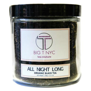 Organic Black Tea <BR> ALL NIGHT LONG <br> Energizing Tea, Loose Leaf, Big T NYC, Big T NYC