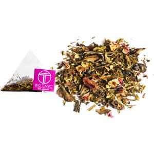 Organic White Tea <br> TELL-TALE GLOW <br> Tea Sachets, TEA SACHETS, Big T NYC, Big T NYC