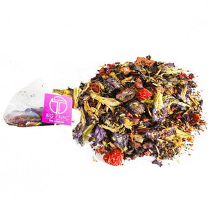 Organic Fruit Tea  <br> TWISTED WATERMELON <br> Tea Sachets, TEA SACHETS, Little T, Big T NYC