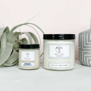 Upcycled Soy Candle <br> CANNABIS, Accessories, Big T NYC, Big T NYC
