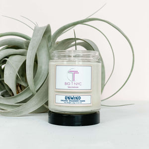 Upcycled Soy Candle <br> AMBER SANTAL, Accessories, Big T NYC, Big T NYC