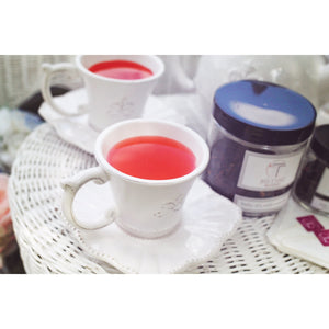 Organic Fruit Tea  <br> STRAWBERRY IS MY JAM <br> Caffeine-Free Hydrating Tea, Loose Leaf, Little T, Big T NYC