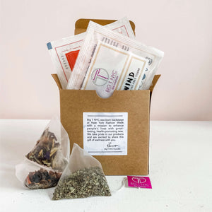 Organic Tea Sachets <br>14 Count Sampler Box, TEA SACHETS, Big T NYC, Big T NYC