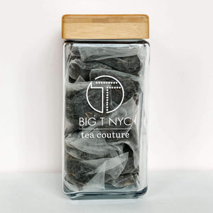 Big T NYC glass tea canister, Accessories, Big T NYC, Big T NYC