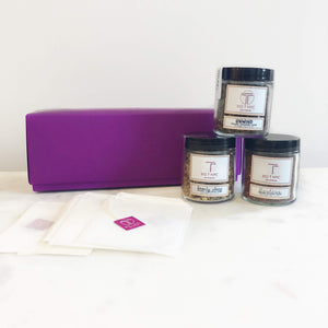 Organic Loose Leaf Tea <br>Gift Set, Loose Leaf, Big T NYC, Big T NYC